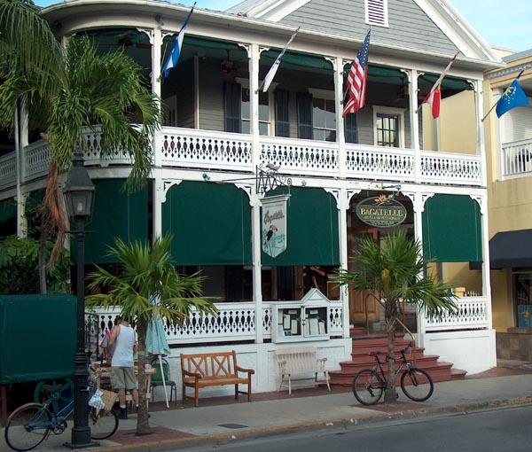 Bagatelle Restaurant 115 Duval Street Key West