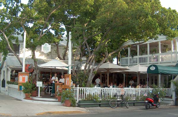 Mangoes Restaurant Key West Caribbean