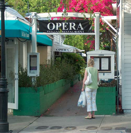 Key West Restaurants Opera Italian Restaurant Key West