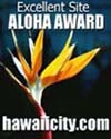 Aloha Excellent Site Award