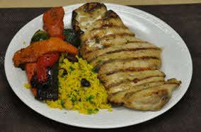 Mediterranean Style Grilled Chicken