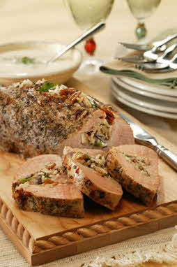 ITALIAN-STUFFED PORK TENDERLOIN
