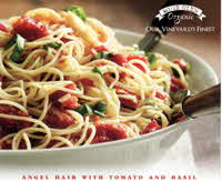 Angel Hair with Tomatoes & Basil