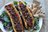 Black Quinoa Stuffed Coffins