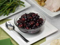 Blueberry Cranberry Relish