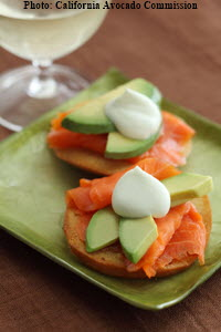 Bruce Family Salmon Bagel