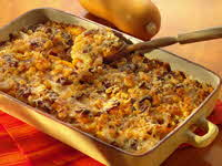 Cheesy Gratin, Butternut squash