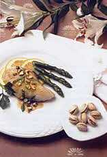 chicken with pistachio sauce