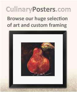 Culinary Posters and Food Art