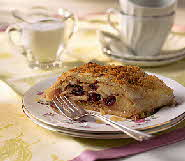cranberry cheese strudel