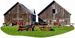 Barns on Farm