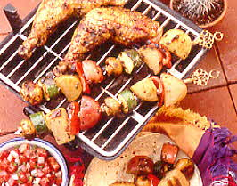 Chicken and Potato Fiesta Grill