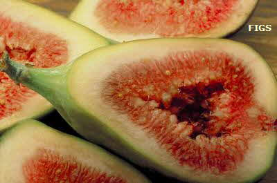 Figs, sliced