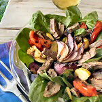 Flank Steak & Vegetable Salad