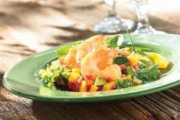 Floribbean Shrimp Salad