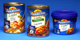 progresso light soups