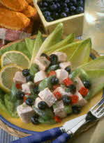 lemon blueberry chicken salad