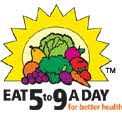 EAT 5 TO 9 A DAY FOR BETTER HEALTH