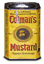 Old Colman's Mustard Tin
