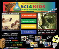 Sci4Kids Website