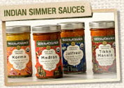 indian simmer sauces