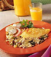 south of the border omelette