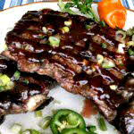 Spicy Grilled Short Ribs