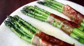Asparagus With Spanish Cured Ham