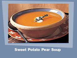 SWEET POTATO PEAR SOUP