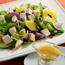 Turkey Citrus Avocado Salad