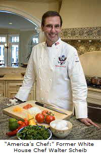 Former White House Chef Walter Scheib